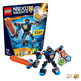 Lego Nexo Knights Battle Suit Clay 70362 Blocks and Bricks