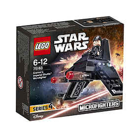 Lego Star Wars Krennic's Imperial Shuttle Microfighter 75163 Blocks and Bricks