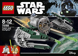 Lego Star Wars Yoda Jedi Starfighter 75168 Blocks and Bricks