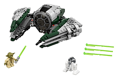 Lego Star Wars Yoda Jedi Starfighter 75168 screen shot 1