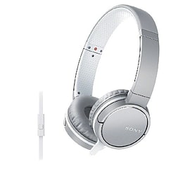 Sony Over-ear Headphones 1.2m Cord - Grey Audio