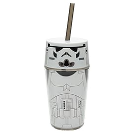 Star Wars Stormtrooper Flat Top Tumbler Home - Tableware