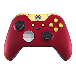 Xbox One Elite Controller - Red Velvet & Gold Edition XBOX ONE