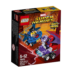Lego Super Heroes Mighty Micros: Wolverine vs. Magneto 76073 Blocks and Bricks