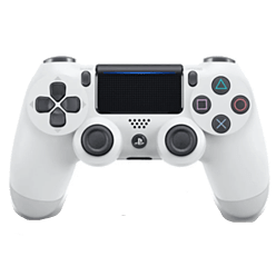 New PlayStation DUALSHOCK 4 Controller - Glacier White PS4