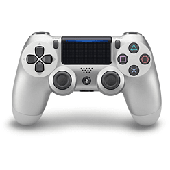 New PlayStation DUALSHOCK 4 Controller - Silver PS4