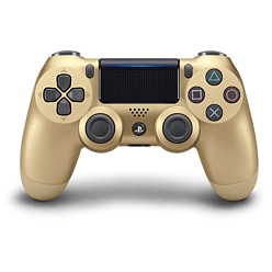 New PlayStation DUALSHOCK 4 Controller - Gold PS4