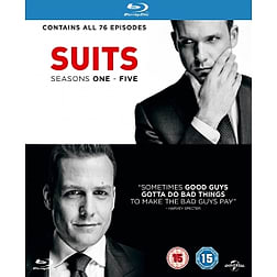 Suits - Season 1-5 Blu-ray Blu-ray