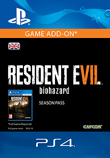 RESIDENT EVIL 7 biohazard Season Pass PS4 Cover Art