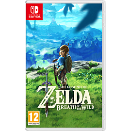 The Legend of Zelda - Breath of the Wild Nintendo Switch Cover Art