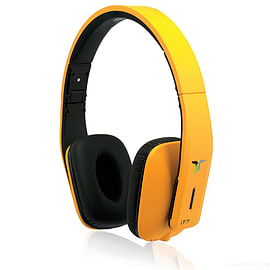 iT7x2 Bluetooth Headphones - Orange Audio