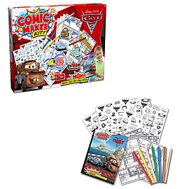 Disney Pixar Cars 2 Comic Maker Books
