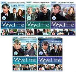 Wycliffe Complete Collection Series 1 - 5 DVD Season 1 2 3 4 5 DVD