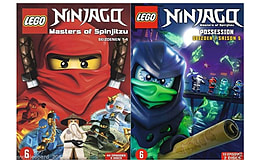Lego Ninjago Masters Of Spinjitzu Complete Collection Series 1 -5 DVD Season 1 2 3 4 5 DVD