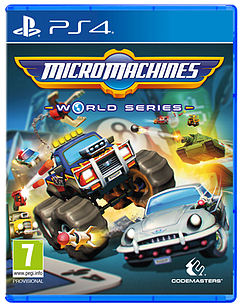 Micro Machines World Series PS4 Cover Art