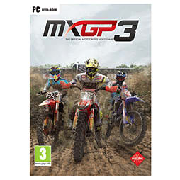 MXGP3 - The Official Motocross Videogame PC Cover Art