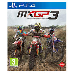 MXGP3 - The Official Motocross Videogame PS4 Cover Art