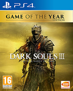 Dark Souls III Game of the Year Edition PS4 Cover Art