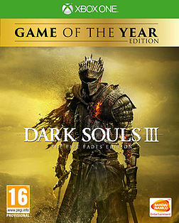 Dark Souls III Game of the Year Edition XBOX ONE Cover Art