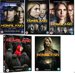 Homeland Complete Collection Series 1-5 DVD Season 1 2 3 4 5 DVD