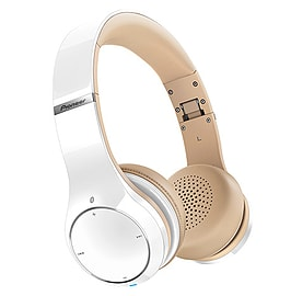 Pioneer NFC Bluetooth AptX Overhead Headphones with Handsfree Calling and 40mm drivers WHI Multi Format and Universal
