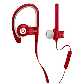 Apple BEATS POWERBEATS 2 IN-EAR HEADPHONES RED Multi Format and Universal