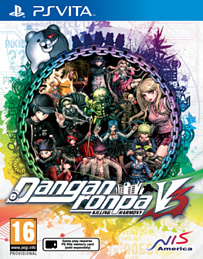 Danganronpa V3: Killing Harmony PS Vita Cover Art