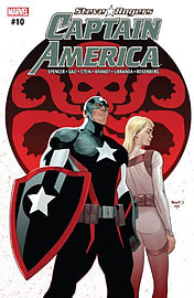 CAPTAIN AMERICA STEVE ROGERS #10 NOW ((Regular Cover)) ? Marvel Comics ? 25th Jan 2017- 1st Printing Books