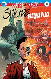 SUICIDE SQUAD #10 ((Ongoing)) ((DC REBIRTH )) ((Regular Cover)) ? DC Comics ? 2017 ? 1st Printing Books