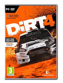 DiRT 4 Day One Edition PC Cover Art