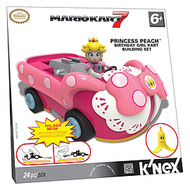 K'Nex Princess Peach Birthday Girl Building Set Blocks and Bricks