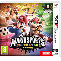 Mario Sports Superstars 3DS Cover Art