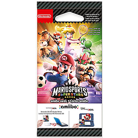 Mario Sports Superstars Amiibo Cards (5pcs) Amiibo Cover Art