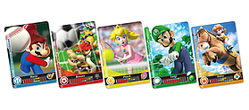 Mario Sports Superstars Amiibo Cards (5pcs) screen shot 1