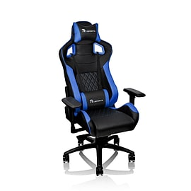 Thermaltake E-Sports GTF100 Black & Blue Fit Series Gaming Chair Multi Format and Universal