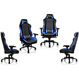 Thermaltake E-Sports GTC 500 Black & Blue Comfort Series Gaming Chair screen shot 1