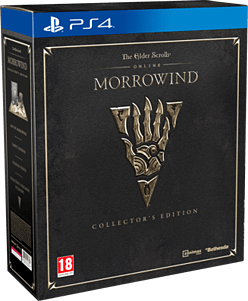 Elder Scrolls Online: Morrowind Collector's Edition- Only at GAME PS4 Cover Art