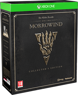 Elder Scrolls Online: Morrowind Collector's Edition XBOX ONE Cover Art