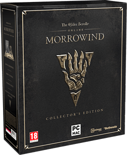 Elder Scrolls Online: Morrowind Collector's Edition- Only at GAME PC Cover Art
