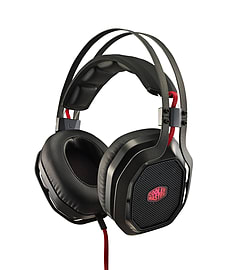 Cooler Master MasterPulse Pro Over-Ear with Bass FX 7.1 Surround Gaming Headset Multi Format and Universal