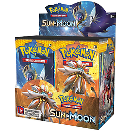 Pokemon Sun & Moon English Booster Box - 36 Packs Trading Cards