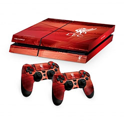 Official Liverpool FC PS4 Console Skin and 2x Controller Skin Combo Pack PS4