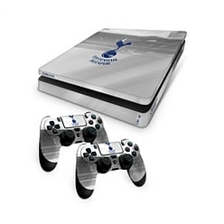 Official Tottenham Hotspur FC PS4 Slim Console Skin and 2x Controller Skin Combo Pack PS4