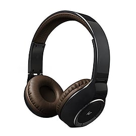 KitSound Arena Universal Bluetooth Over-Ear Headphones with In-Line Microphone Compatible with iOS, Audio