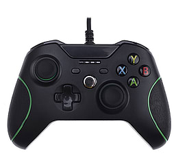 [REYTID] Xbox One WIRED Controller with 3.5mm jack - Black - Game Pad Gaming Control Bluetooth XB1 XBOX ONE