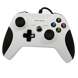 [REYTID] Xbox One WIRED Controller with 3.5mm jack - WHITE - Game Pad Gaming Control Bluetooth XB1 S XBOX ONE