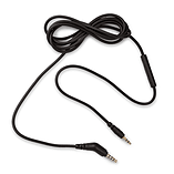 Replacement Audio Cable w/In-Line Remote & Volume Control for Audio Technica ATH-M50x ATH-M40 screen shot 1