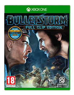 Bulletstorm Full Clip Edition XBOX ONE Cover Art