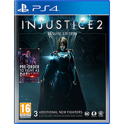 Injustice 2 Deluxe Edition with Steelbook - Only at GAME PS4 Cover Art