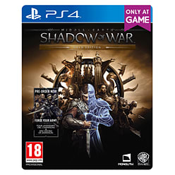 Middle-earth: Shadow of War Gold Edition - Only at GAME PS4 Cover Art